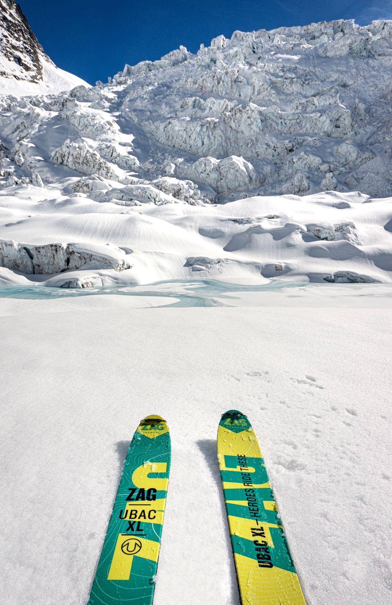 Ubac Xl Zaggskis Skitouring Skimo Mountains Glacier Montblanc Big Mountain Skiing Ski Touring Skiing