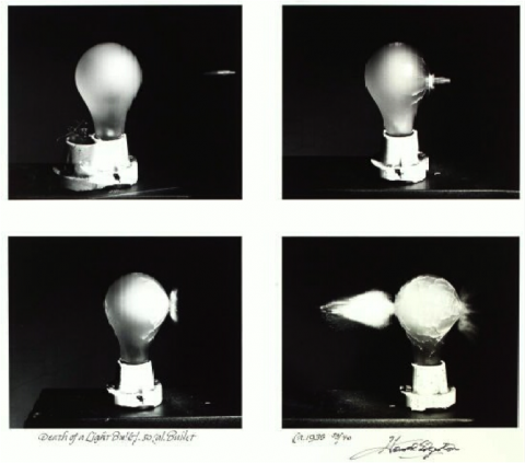 death of a lightbulb...Edgerton