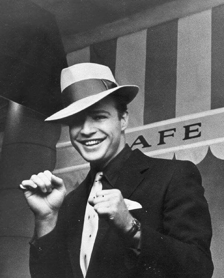 231bdba5 Marlon Brando's smile... Enough said | ♔ I ♥ men in suits ...