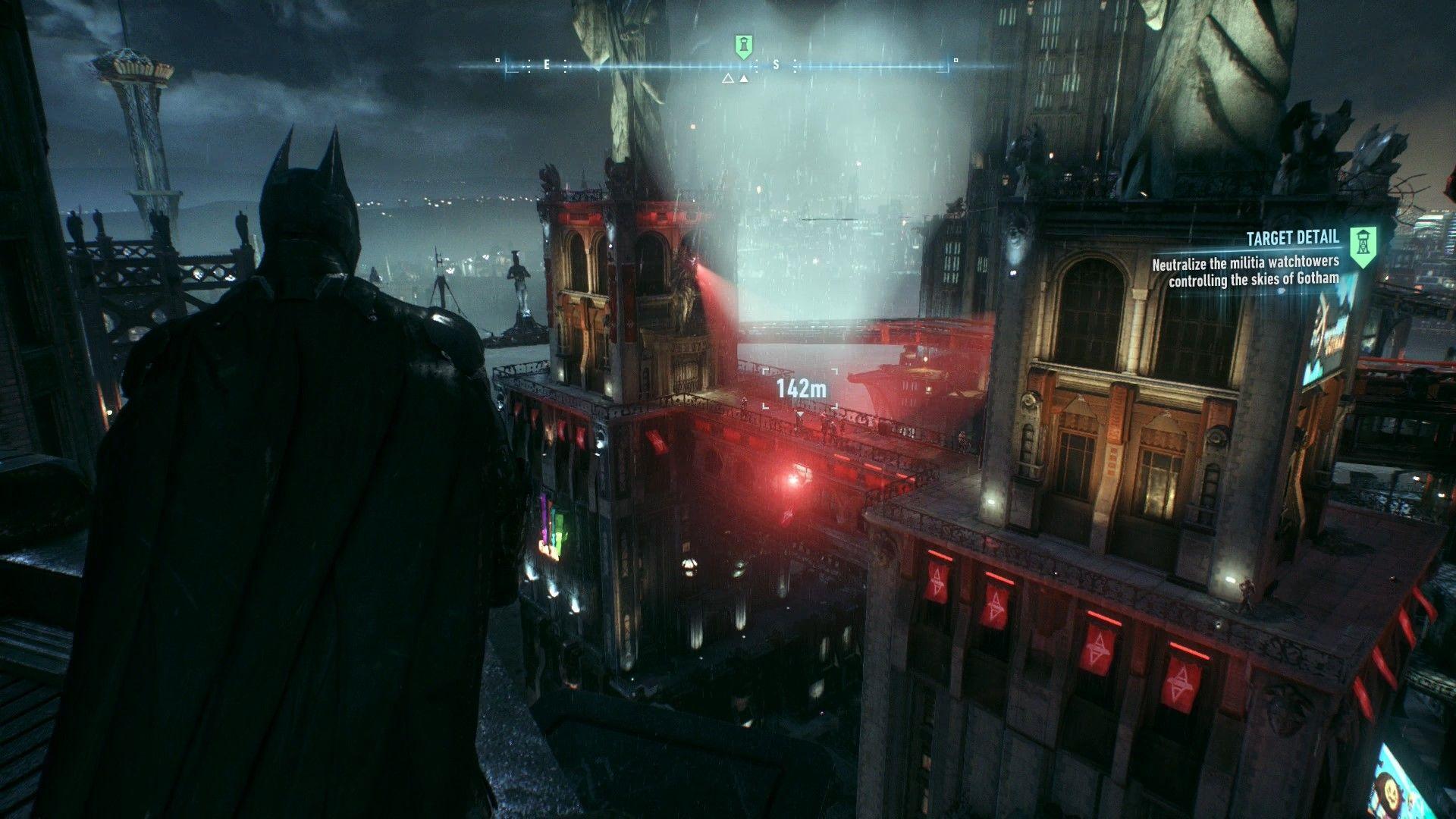 Batman Arkham Knight Occupy Gotham Most Wanted Watchtower