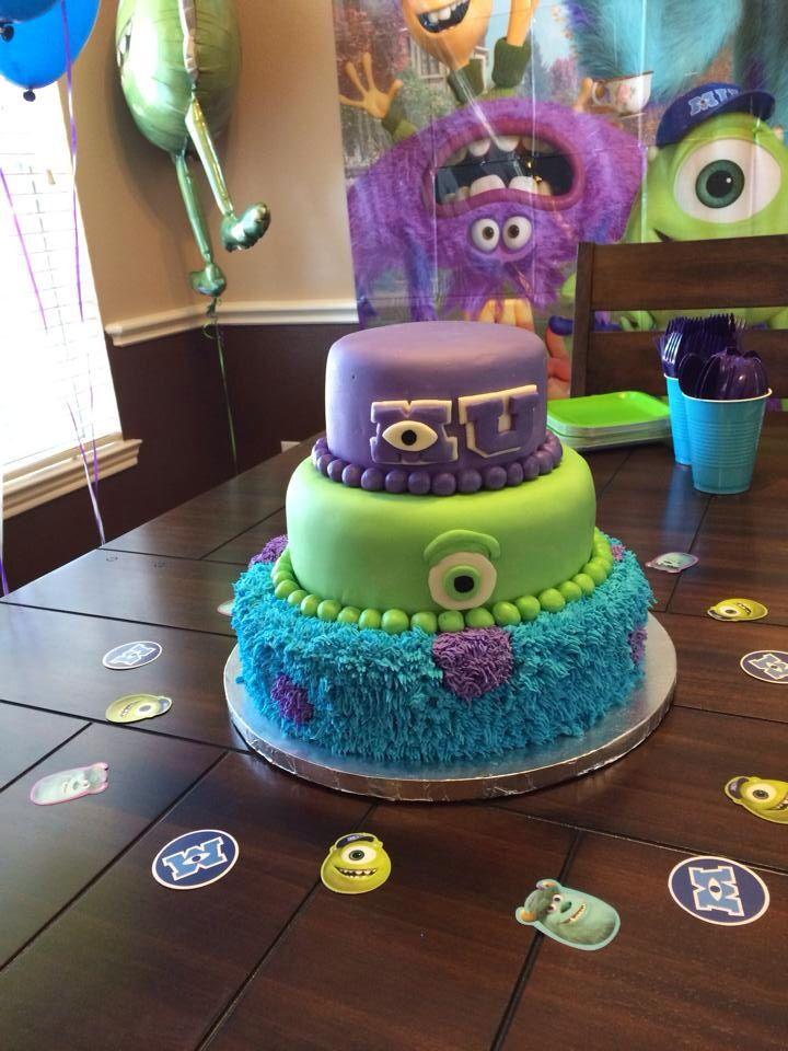 Stupendous Monsters University Birthday Monster University Cakes Monster Funny Birthday Cards Online Kookostrdamsfinfo