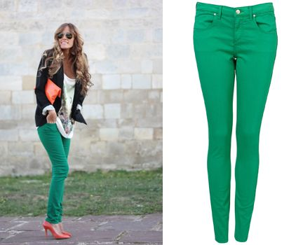10  images about Green skinny jeans on Pinterest   Booties outfit ...