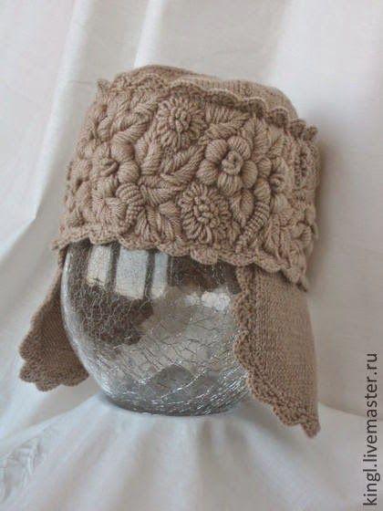 Irish Crochet объемная вышивка елены король вязание 3крючок