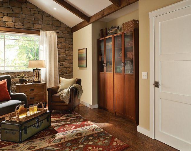 30 idées de décoration de salon avec un style rustique salons rustiques rustique moderne et rustique