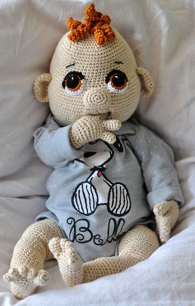 Häkelanleitung, DIY - Baby Quinny (50 cm) - Ebook, PDF, deutsch oder ...