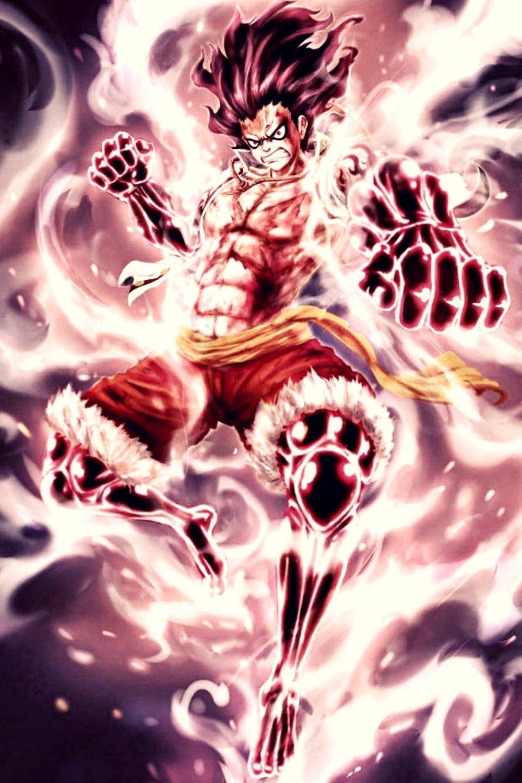 Monkey D Luffy Gears Fourth Snake Man Manga Anime One Piece One Piece Manga One Piece Luffy
