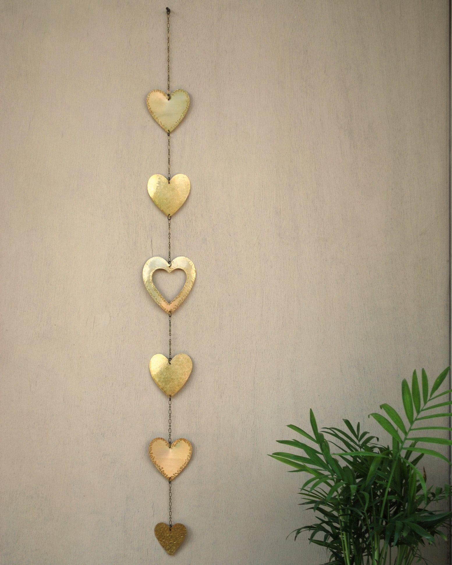 Hearts Decor Wall Art Heart Wall Hanging Metal Love Decor Etsy Heart Decorations Heart Wall Heart Wall Decor