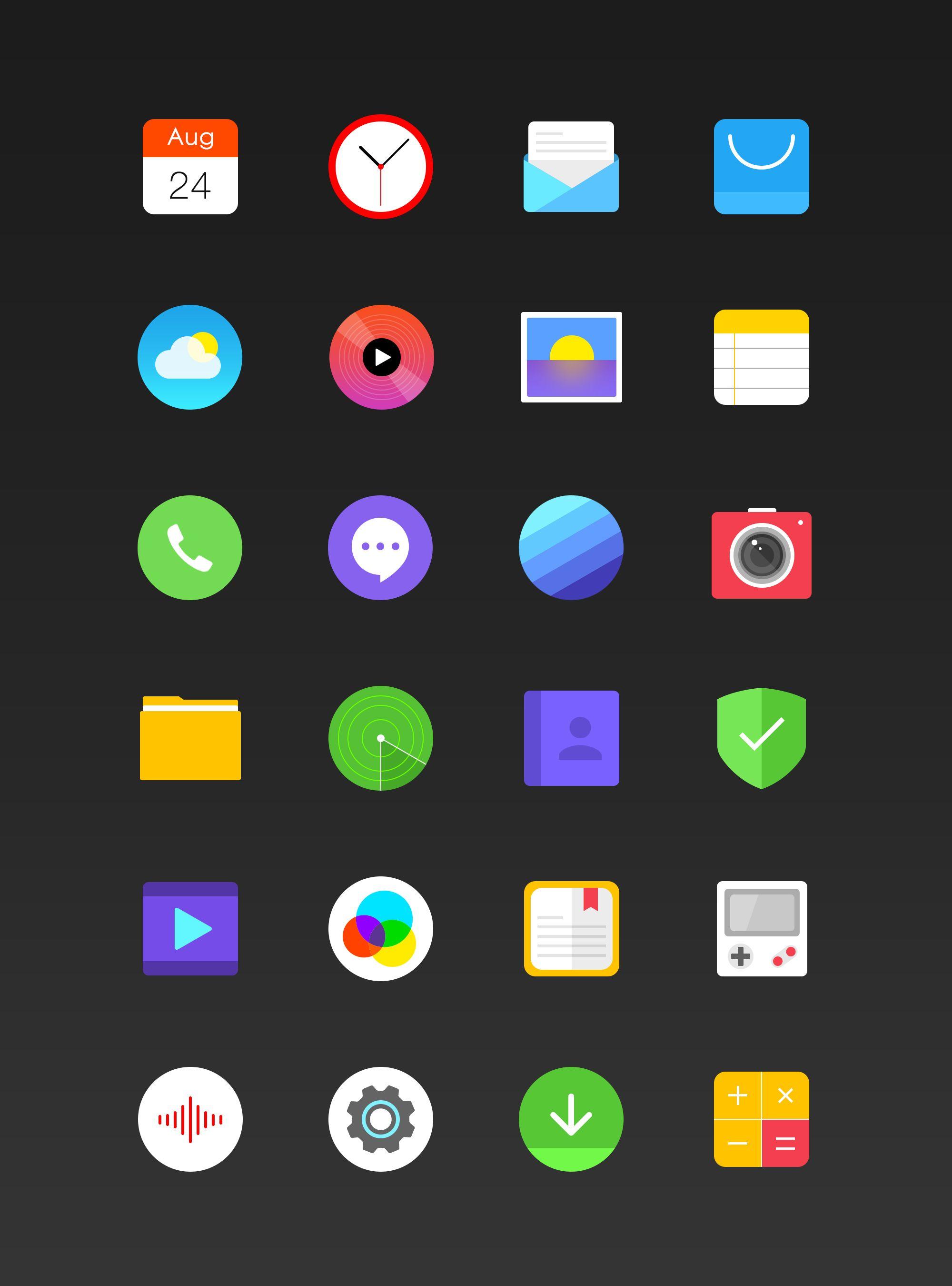 Os icon full Icon, Pixel art, Iconography