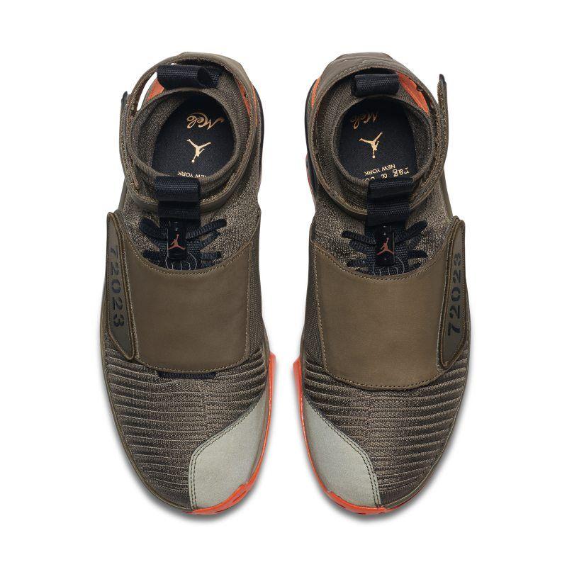 ee2a5f4bba43 Air Jordan XX Flyknit x Rag Bone x Carmelo Anthony Men s Shoe - Olive