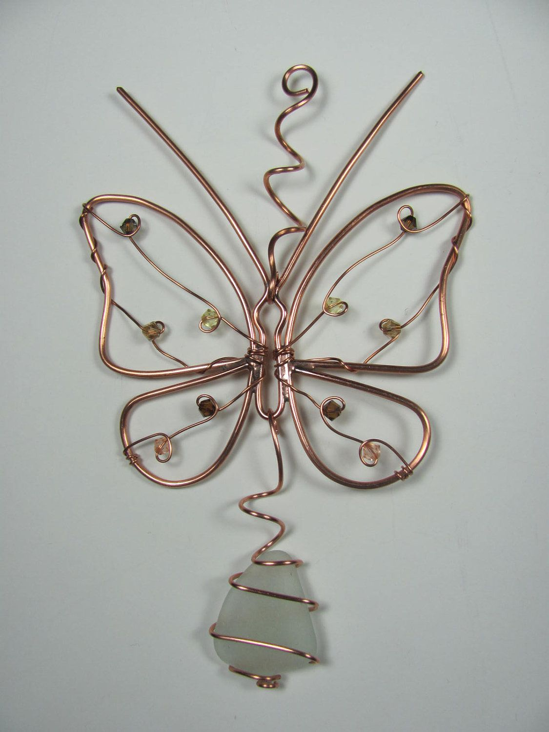 Copper wire butterfly | Jewelry Wire Fun! | Pinterest | Draht ...