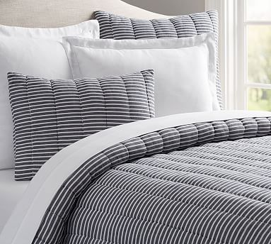Mini Stripe Comforter Shams Daybed Comforter Sets Comforters Striped Bedding