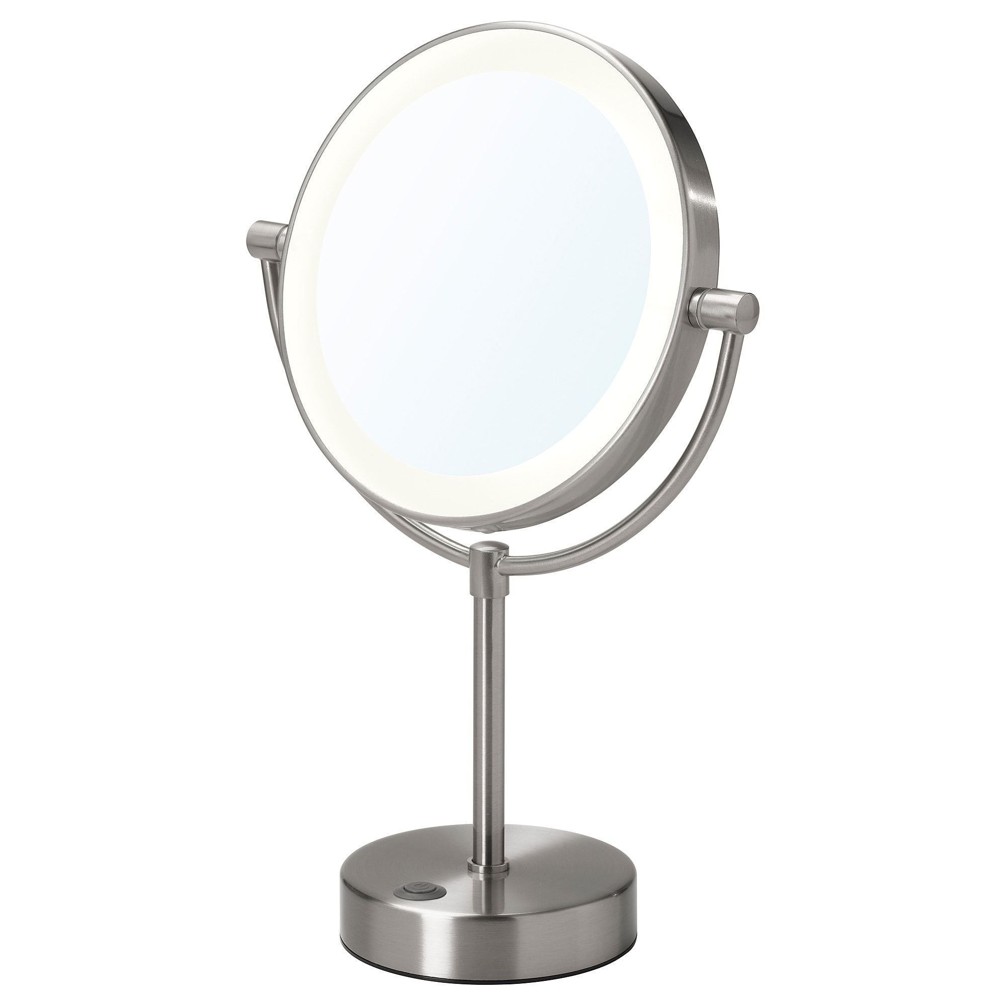 Kaitum Mirror With Built In Light Battery Operated 7 7 8 Mirror With Built In Lights Mirror Magnifying Mirror