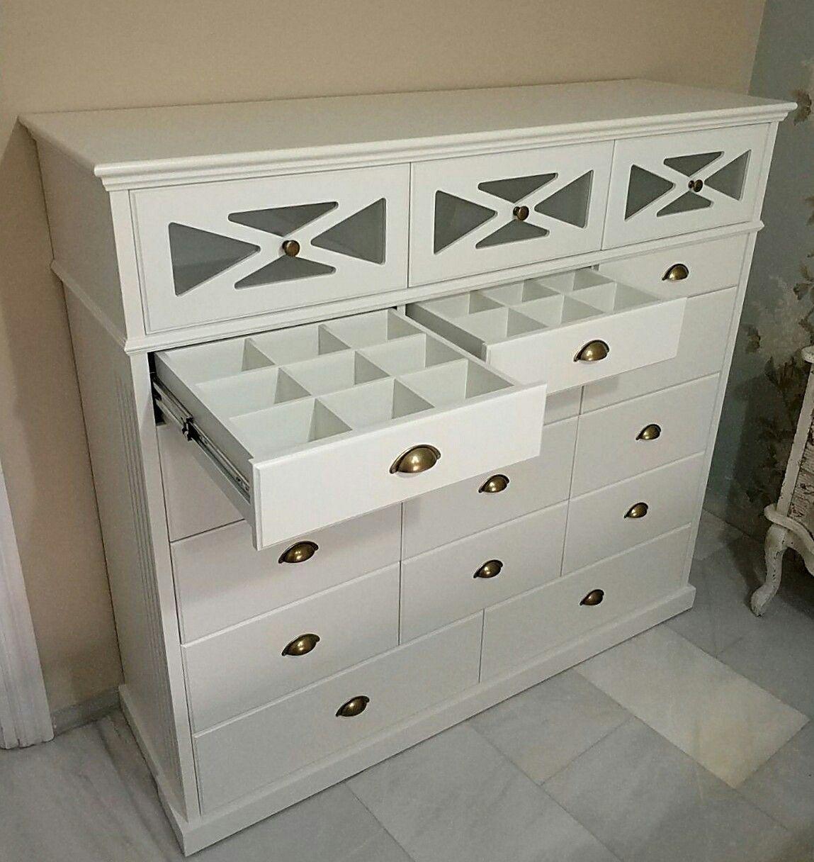 Comoda hecha a medida lacada en blanco roto muebles iroko te hacemos los muebles a tu gusto - Comodas a medida ...