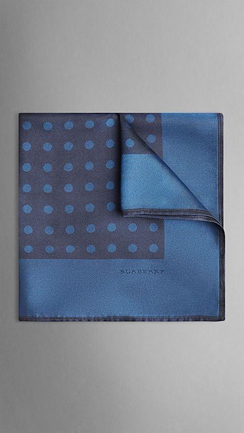 Polka Dot Silk Pocket Square | Burberry