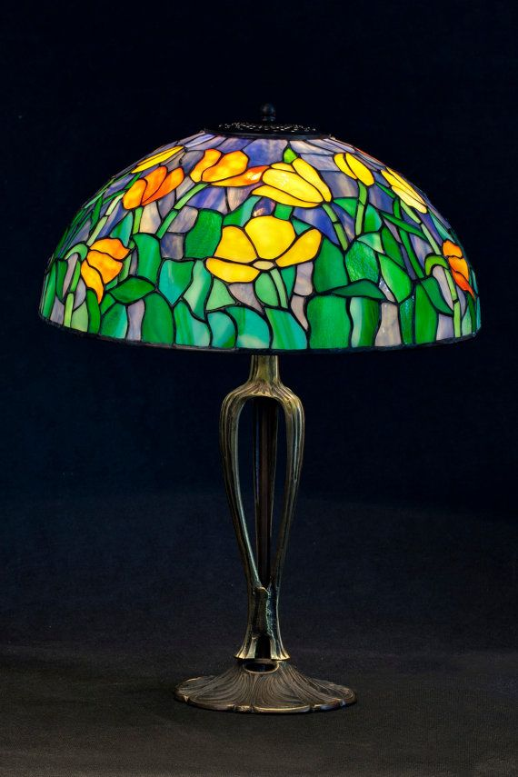Diy Tiffany Lampshade Diy Lamp Shade Faux Stained Glass Tiffany Ceiling Lights