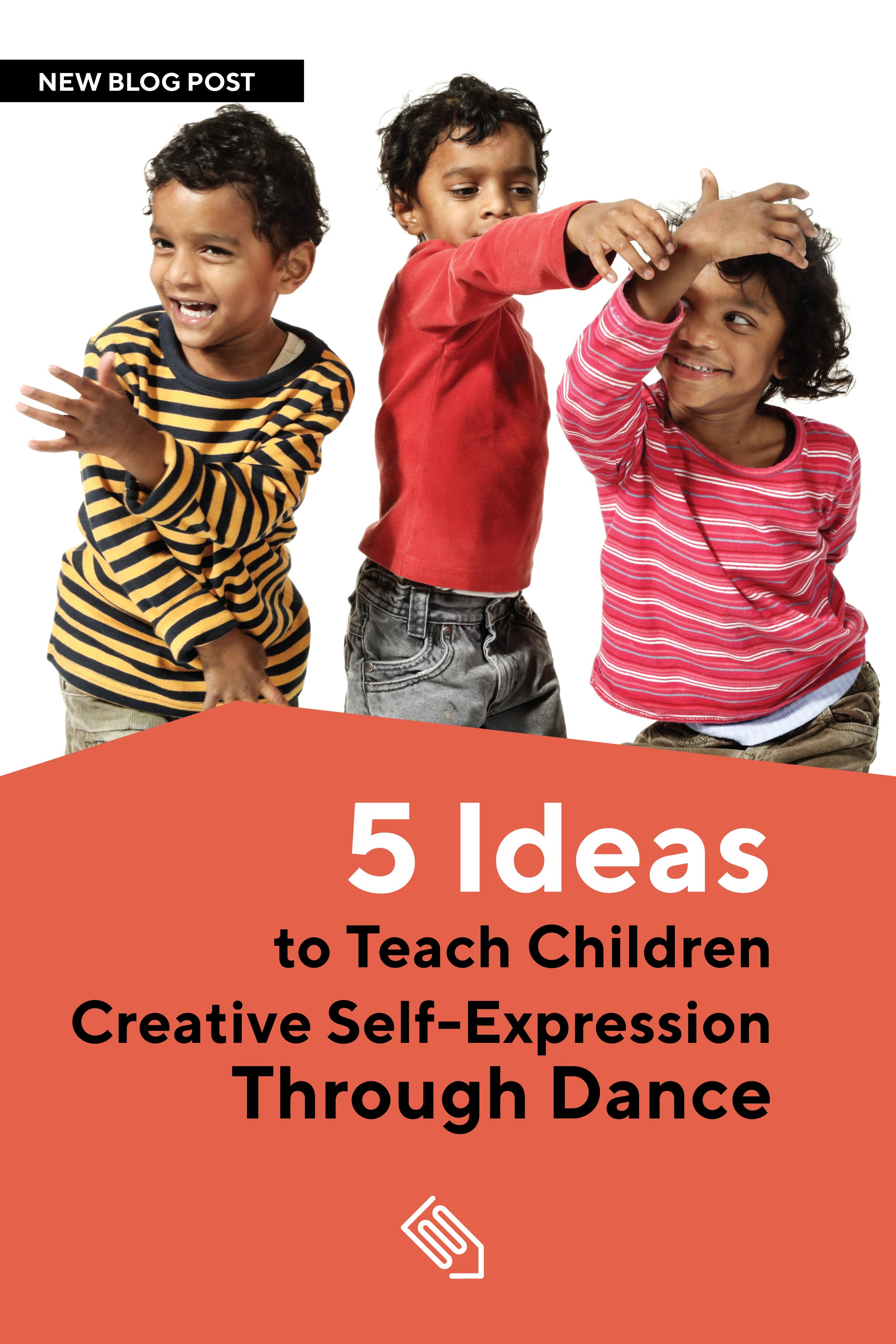 5 Ideas To Teach Children Creative Self Expression Through