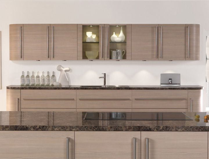 Avola Champagne Kitchen Cabinets Are Less Expensive Than You Think