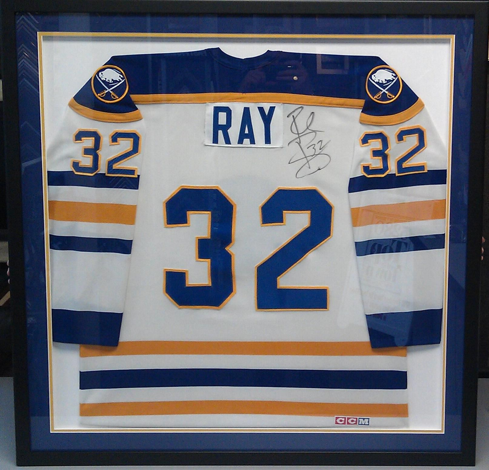 Custom framed Buffalo Sabres jersey. Custom framed and designed by  FastFrame of LoDo. 76f0ca11dcd