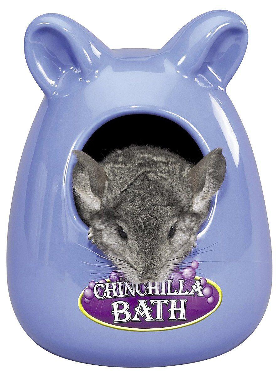 Super Pet Ceramic Bath House Chinchilla Cute Small Animals Small Pets