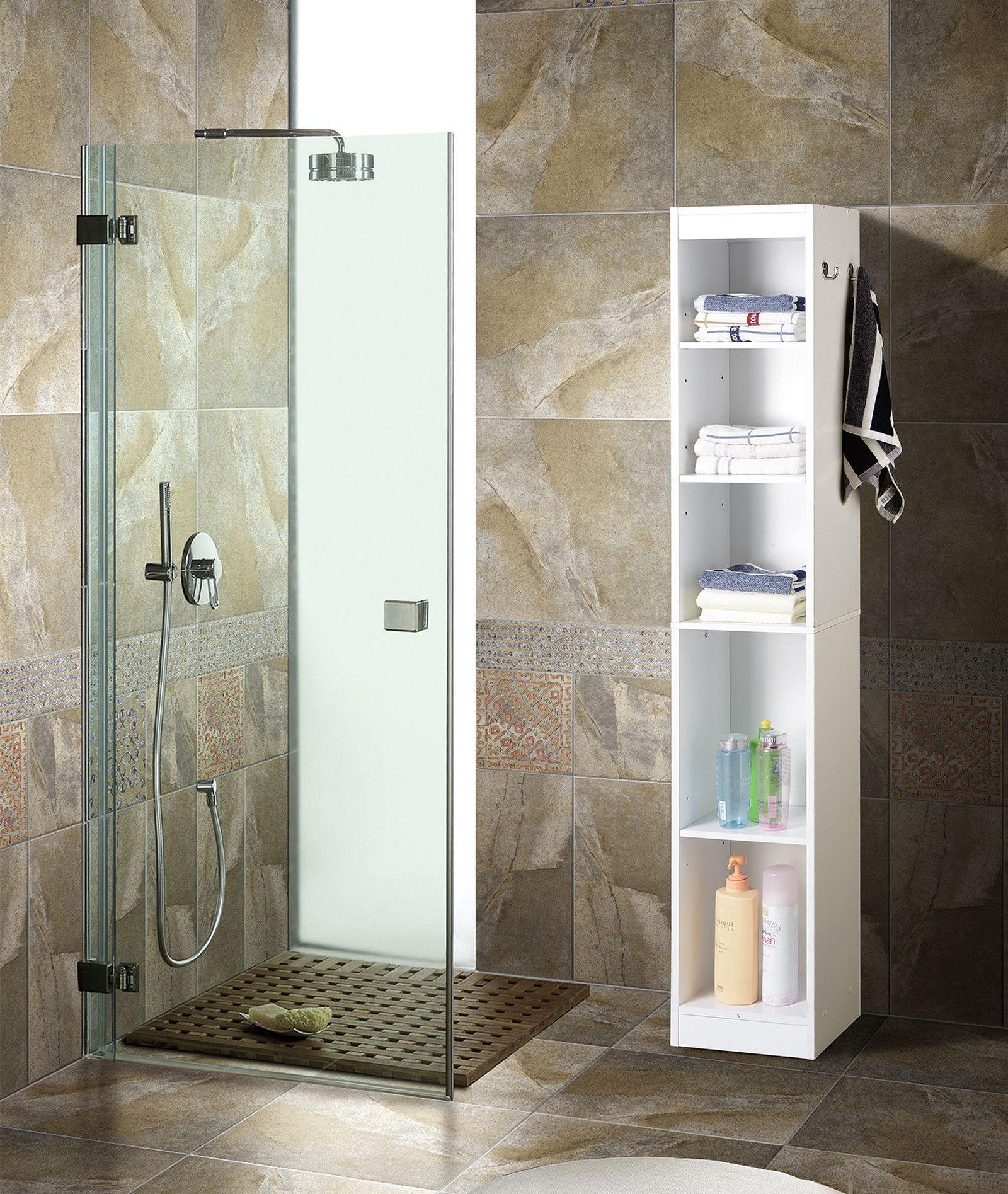 Bathroom Linen Tower Cabinet - http://harvesthustle.org/bathroom ...