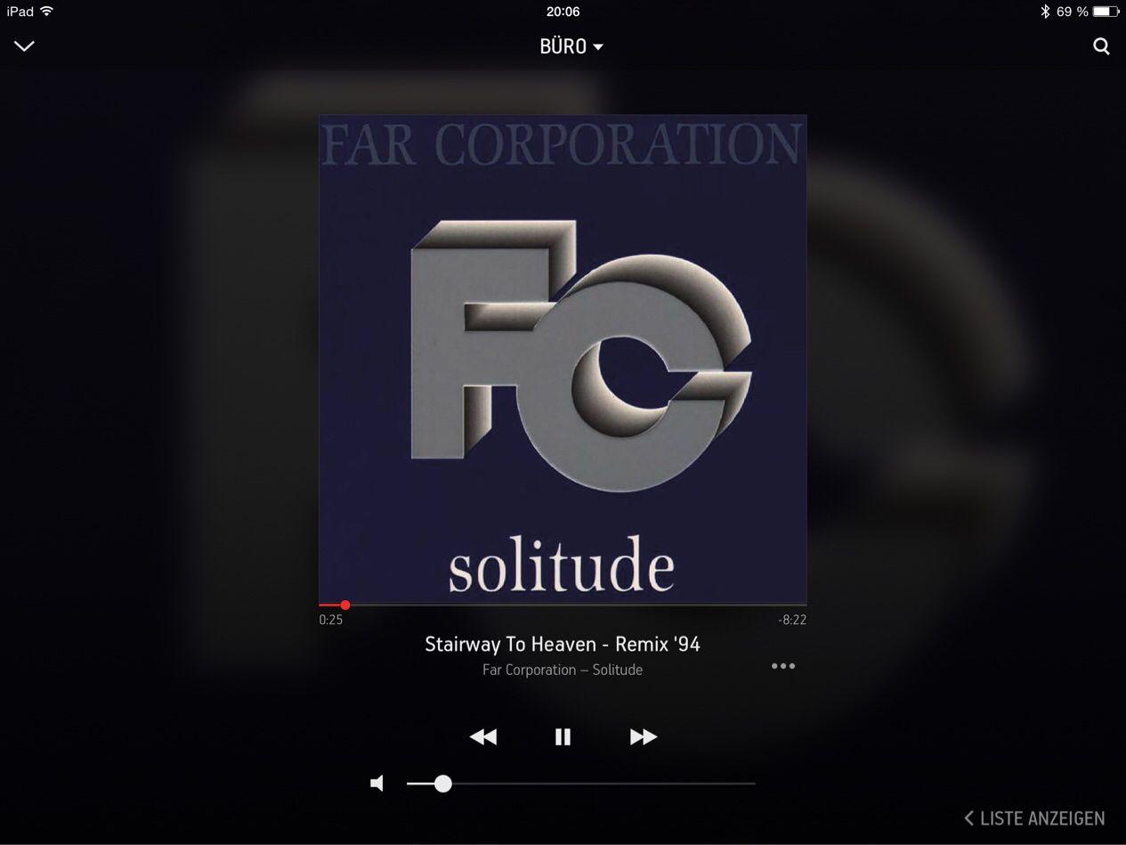 """Auf @Sonos läuft gerade """"Stairway To Heaven - Remix '94"""" von Far Corporation #NowPlaying"""