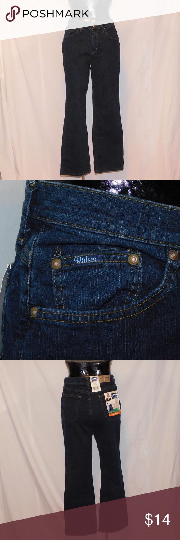 2b5bd75b LEE Rider Mid Rise Stretch Straight Leg Jeans LEE Rider, Women's Size 10 P.