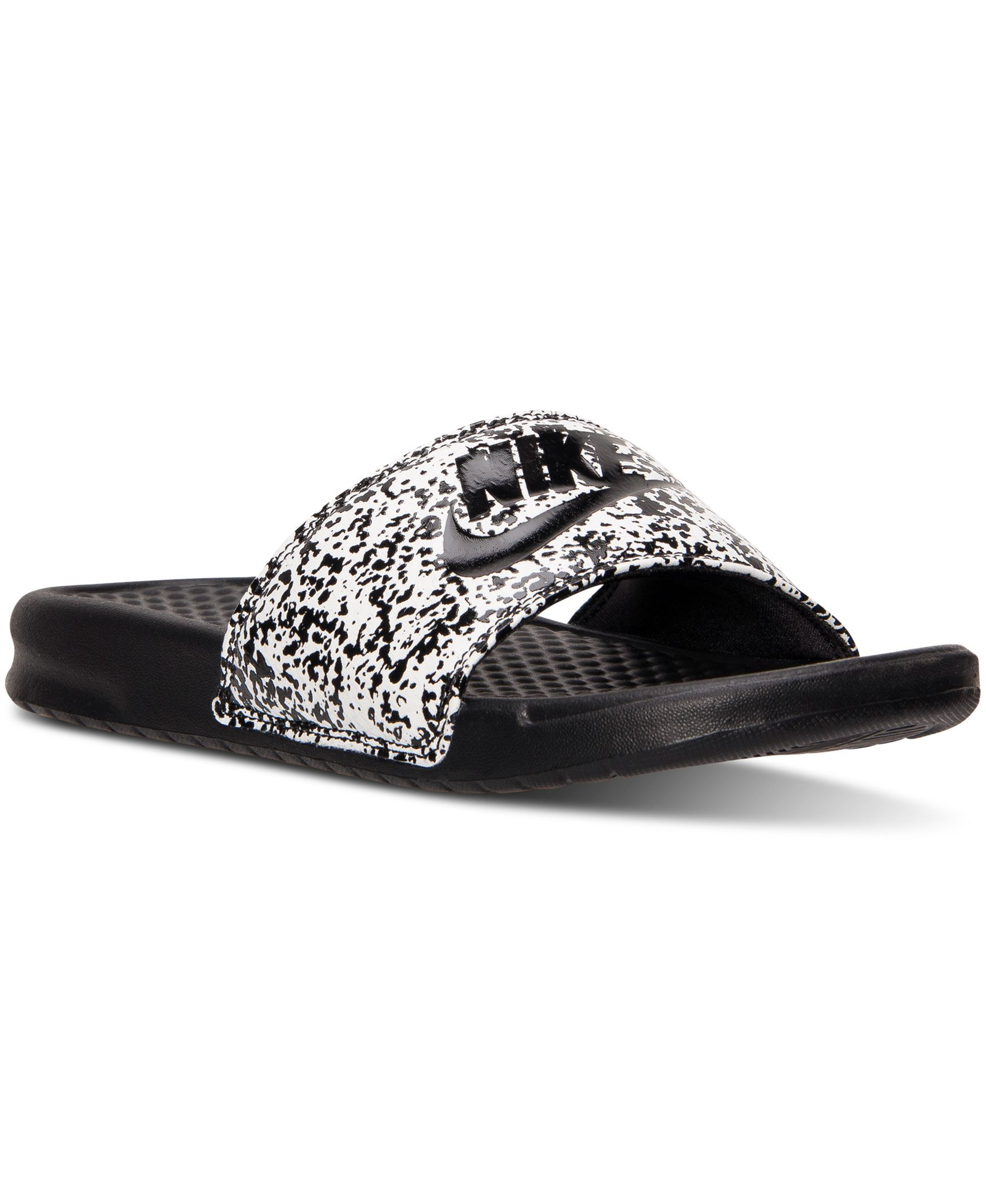 Nike Men s Benassi Jdi Print Slide Sandals from Finish Line  fb8b459af