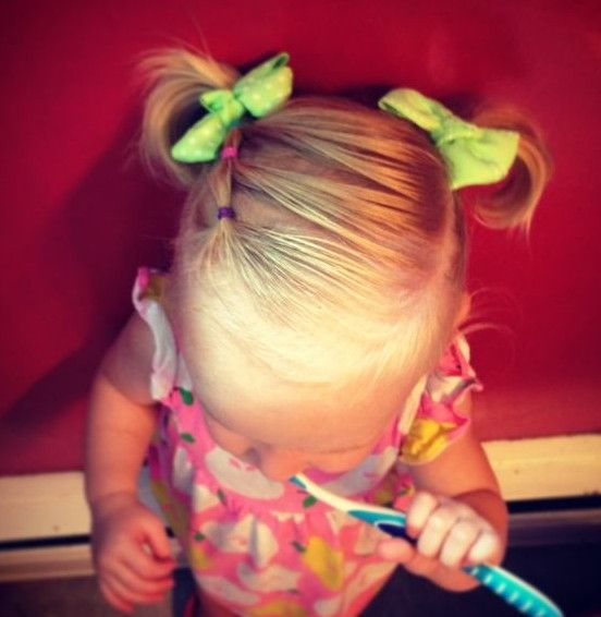 21 Cute Hairstyles for Girls | Toddler girls, Girls and Hair style