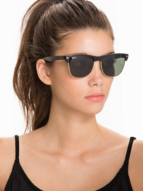 ray ban classic clubmaster black  Ray Ban Oversized Clubmaster