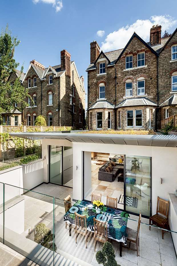 Victorian Basement Extension Homebuilding Renovating Victorian Townhouse Contemporary House Design Exterior Design