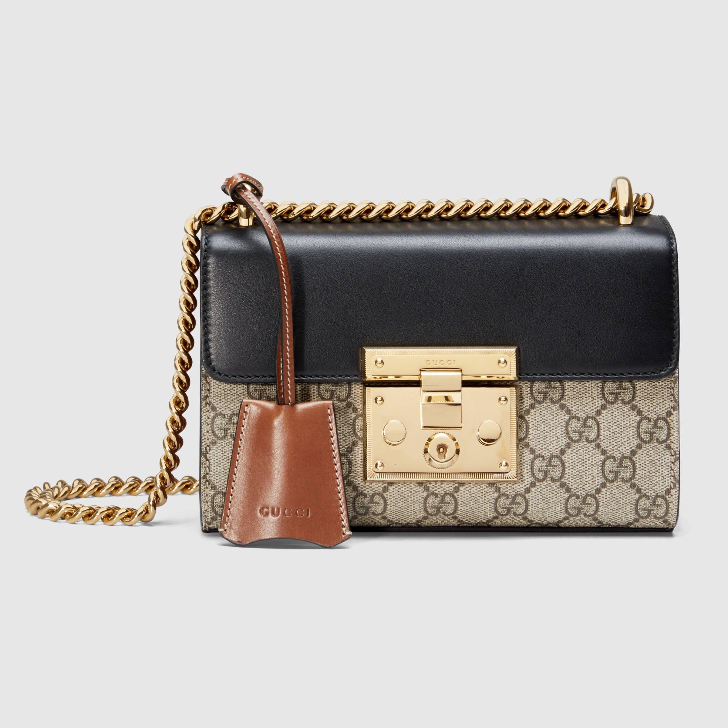 797f23693c9 Gucci Women - Padlock GG Supreme shoulder bag - 409487KLQJG9785