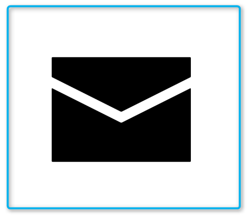 Envelope Icon In Android Style Icon Android Icons Android Fashion