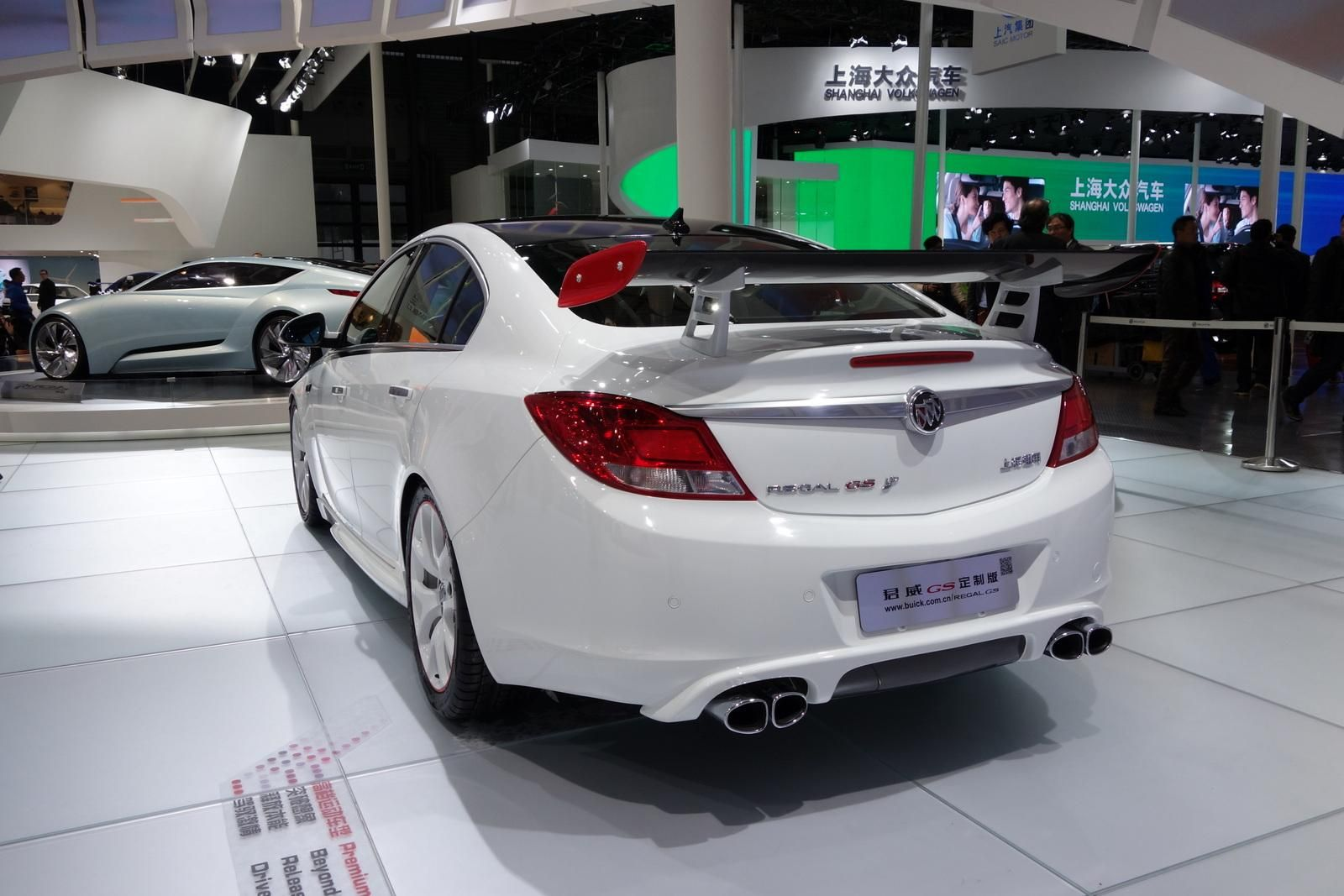 Modified Buick Regal Gs Sedan And Excelle Xt Hatchback Presented At Auto Shanghai Buick Regal Gs Buick Hatchback