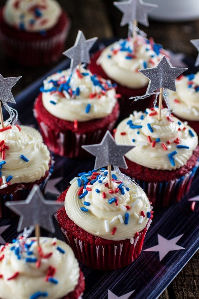 25 Red, White and Blue Recipes for the 4th of July via Brit + Co