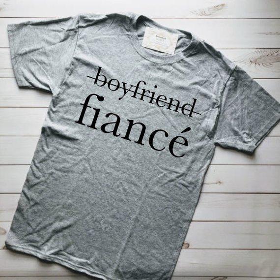 adba97217 MARRIED AF, FIANCE Shirt, Engaged Af, Fiance, Engaged Shirt, Fiance Gift  for Him, Boyfriend Fiance,