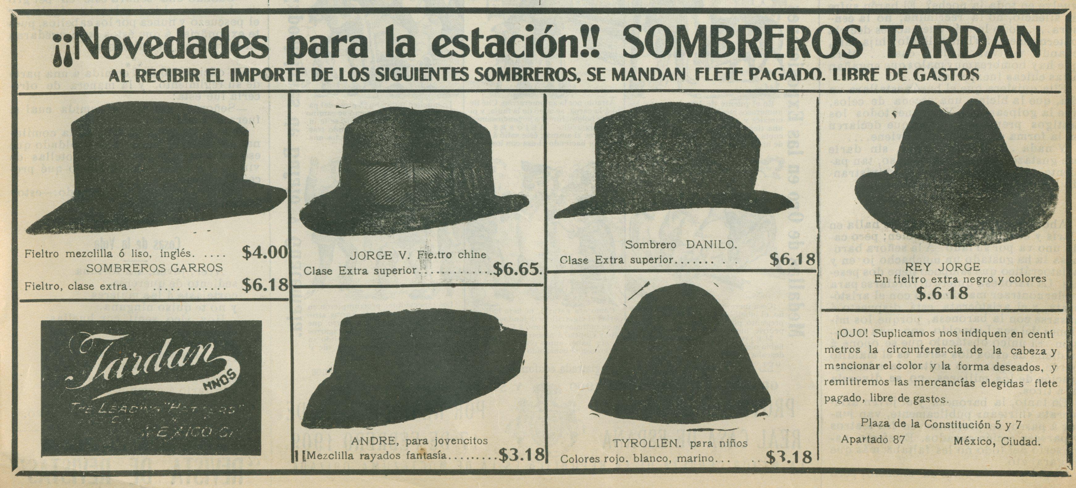 Sombreros Tardan de Sonora a Yucatán
