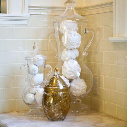 apothecary jar decorating ideas | Bathroom apothecary jars ...