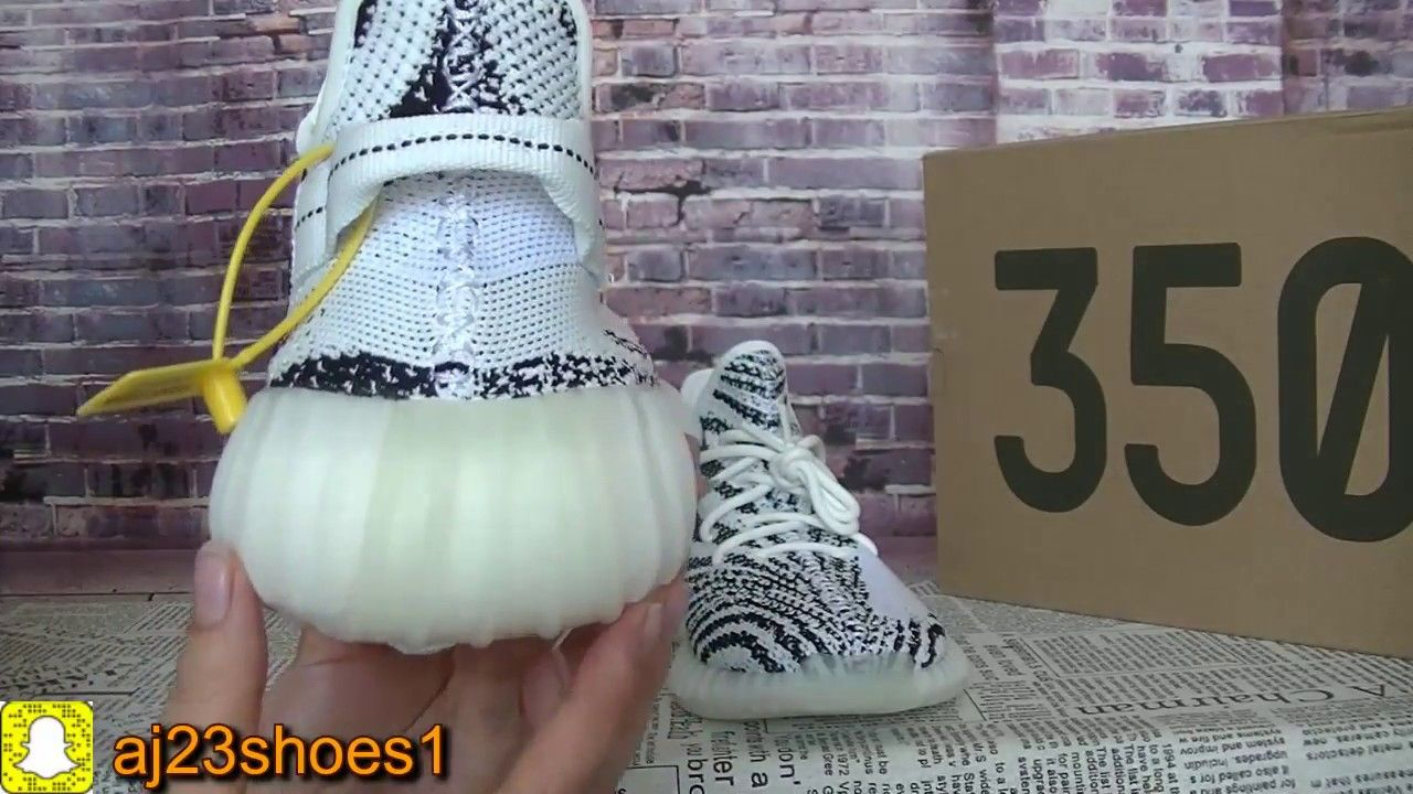 Og Retail Yeezy Boost 350 V2 Zebra Legit Check From Aj23shoes Com