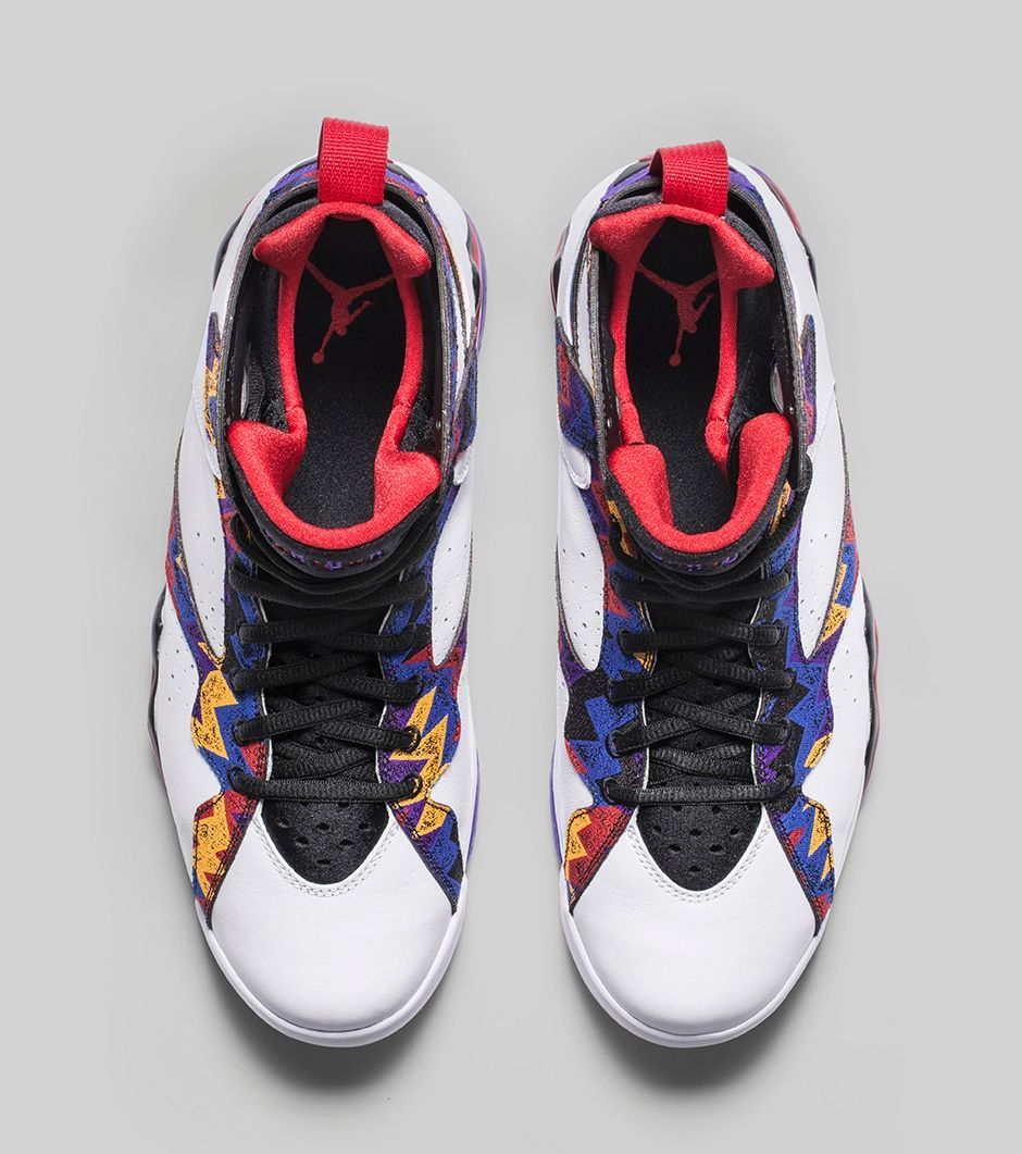 This coming Saturday, the of November, Jordan Brand will release a pattern  infused edition of the Air Jordan VII Retro. Jordan Brand actually unveiled