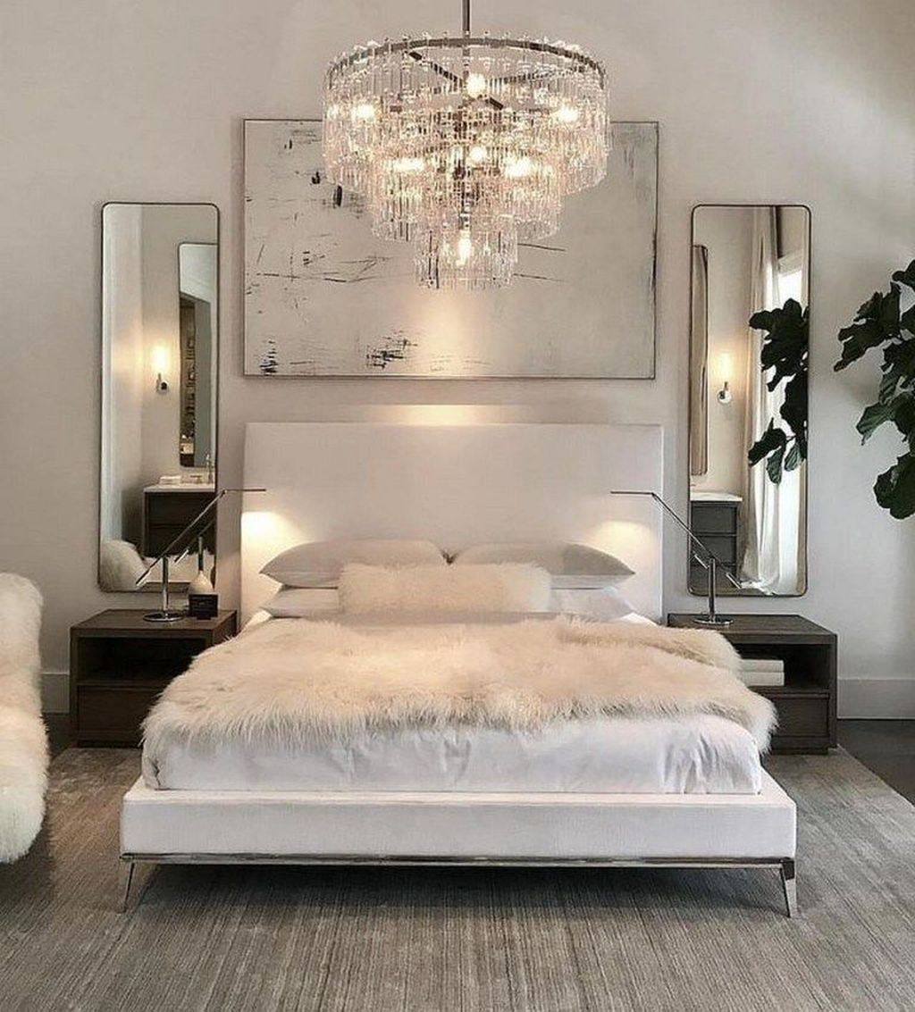 20 Fabulous White Master Bedroom Ideas That Match For Any Home Design Trenduhome Luxurious Bedrooms White Bedroom Decor Master Bedrooms Decor