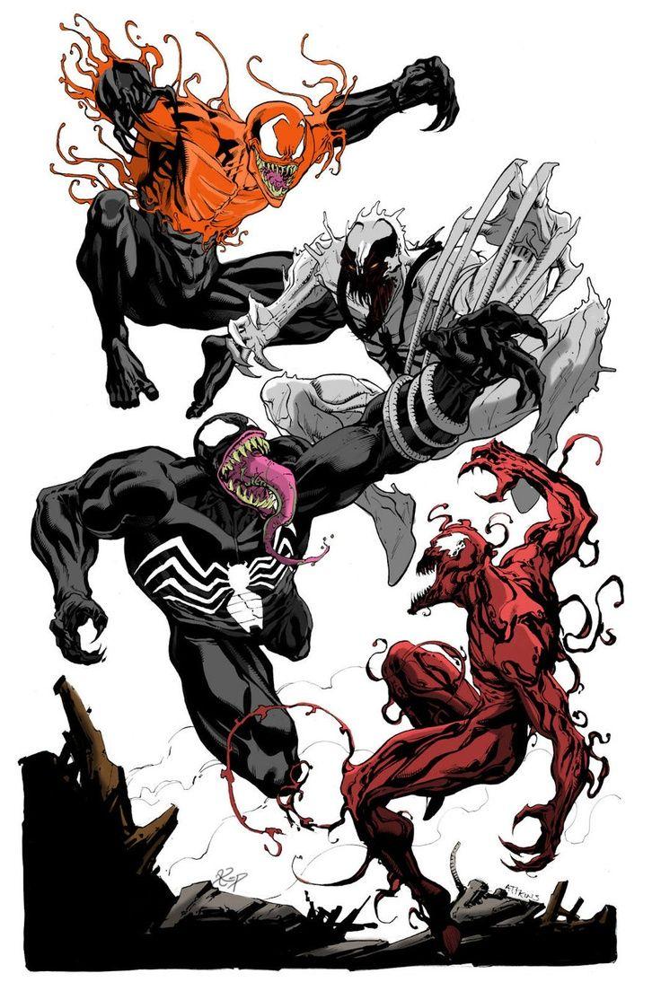 toxin anti venom venom carnage superheroes venom spiderman