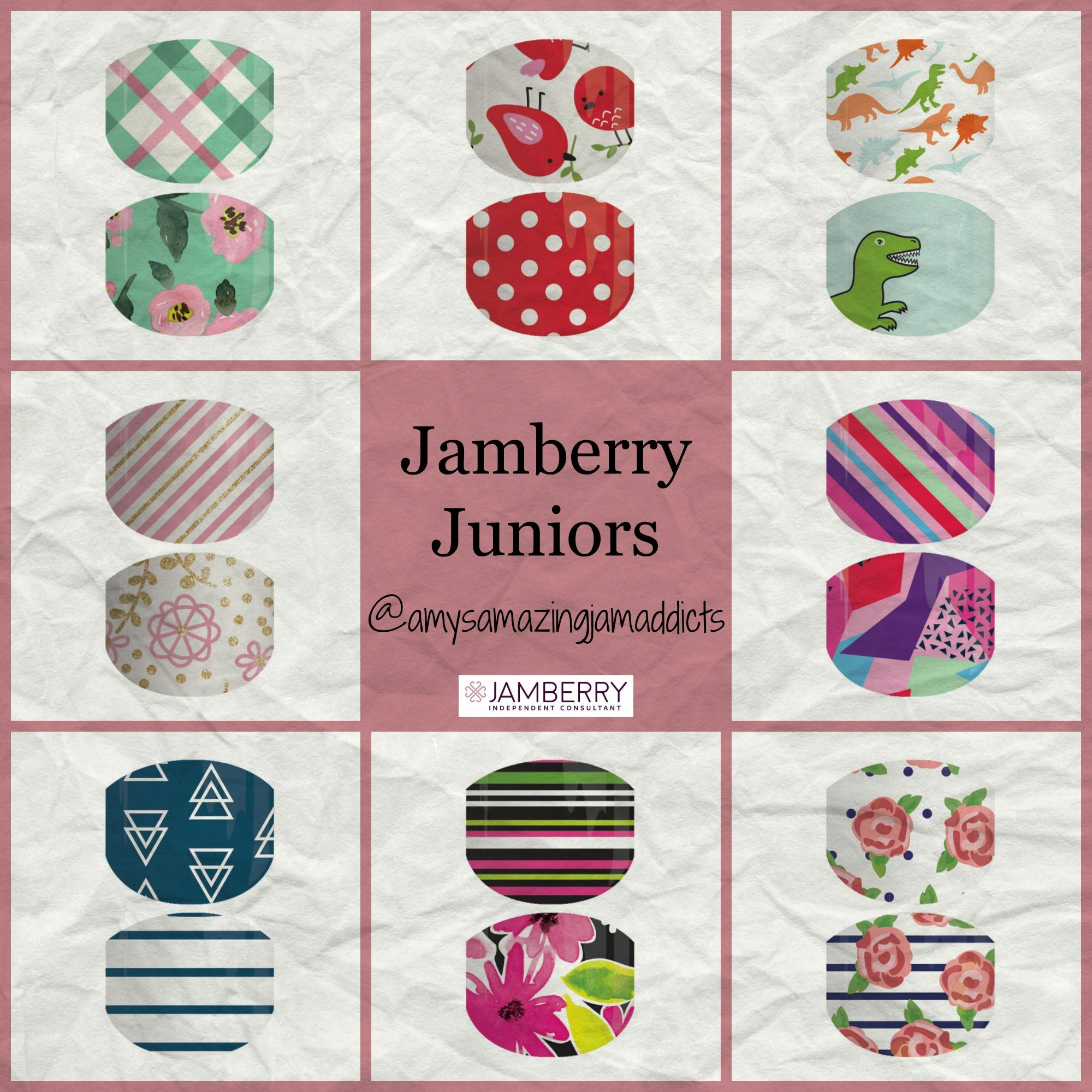 Jamberry Juniors Are The Perfect Nail Wraps For Children Or Adults