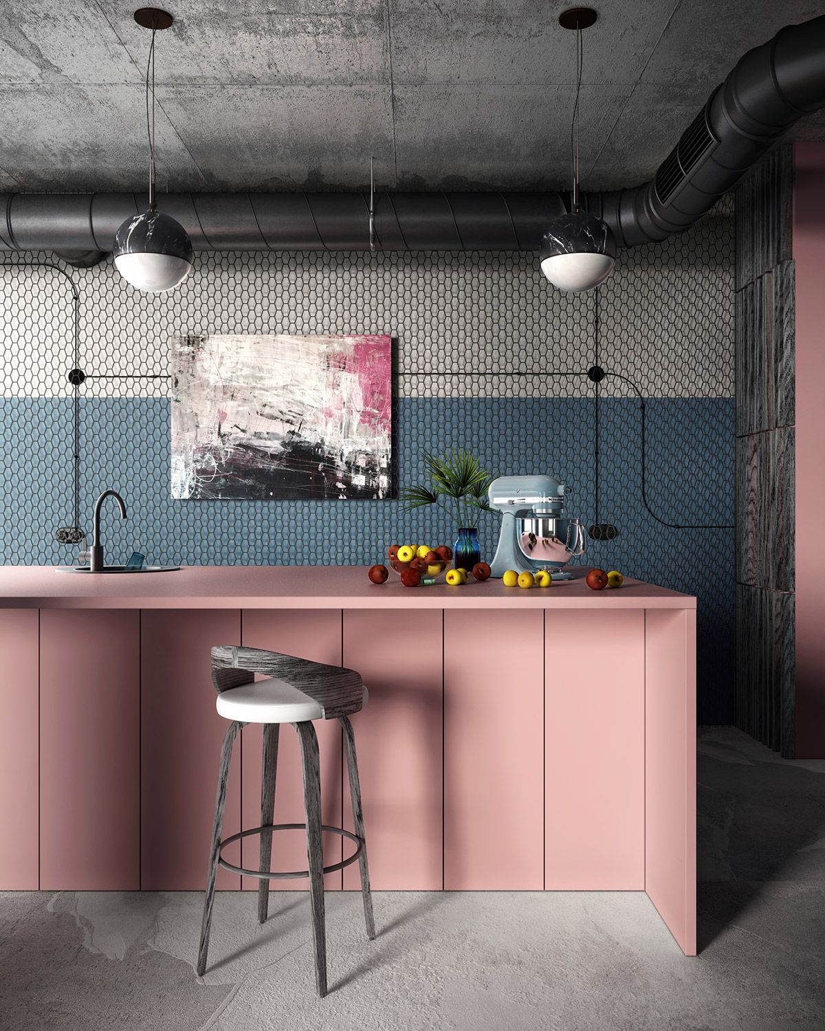 51 inspirational pink kitchens with tips accessories to help you rh pinterest com