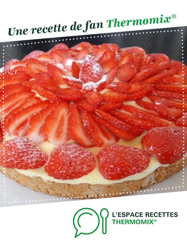 Dacquoise  aux fraises #recettemonsieurcuisinesilvercrest