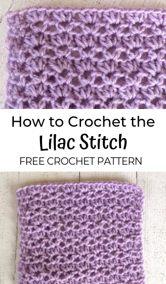 How to Crochet the Lilac Stitch -
