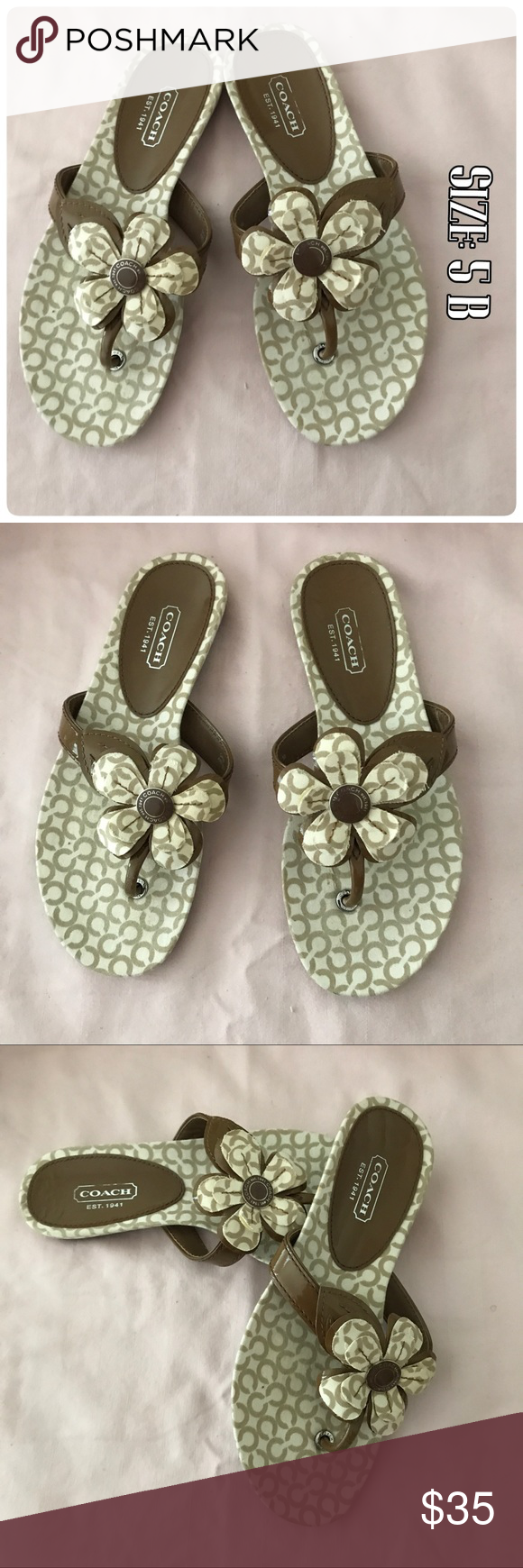 Beautiful Slippers Nwot Beautiful Slippers Coach Shoes