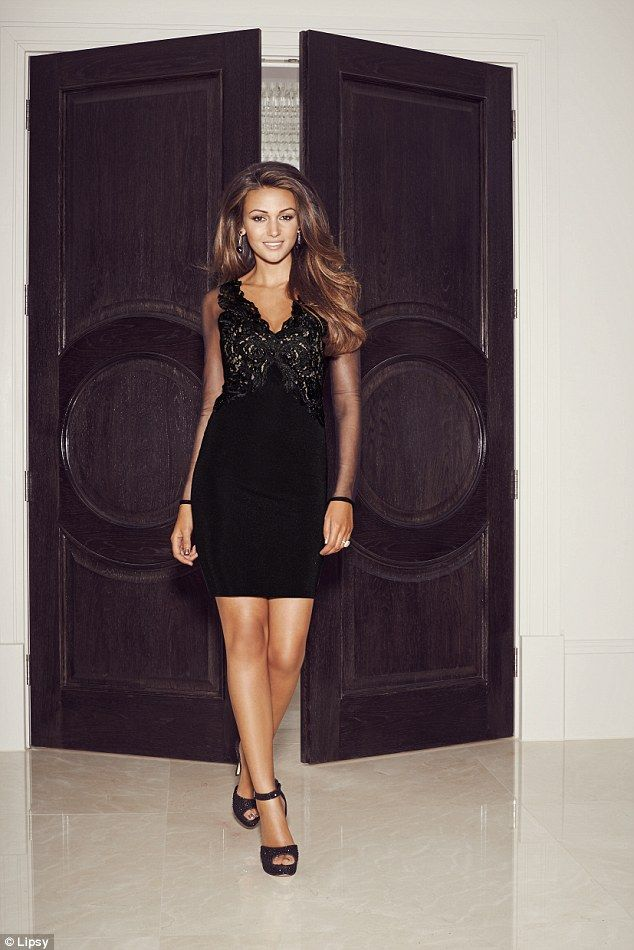 5a97519abe68 Party season: The new Lipsy London love Michelle Keegan collection aims to  reflect the season's hottest shapes, fabrics and styles (dress, £65)