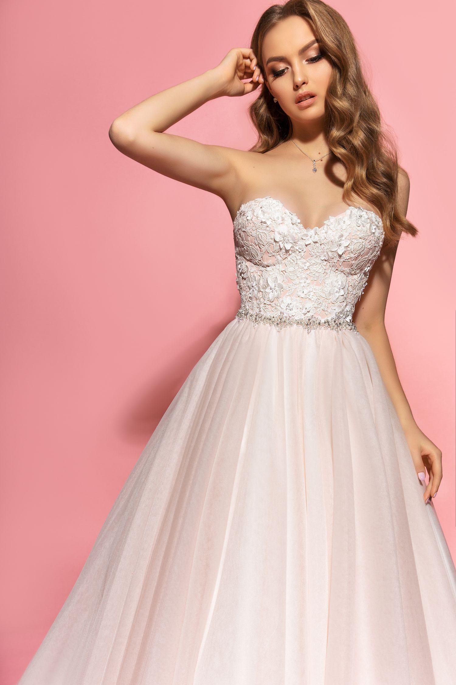 Kerry Wedding Dress Eva Lendel Pink Collection
