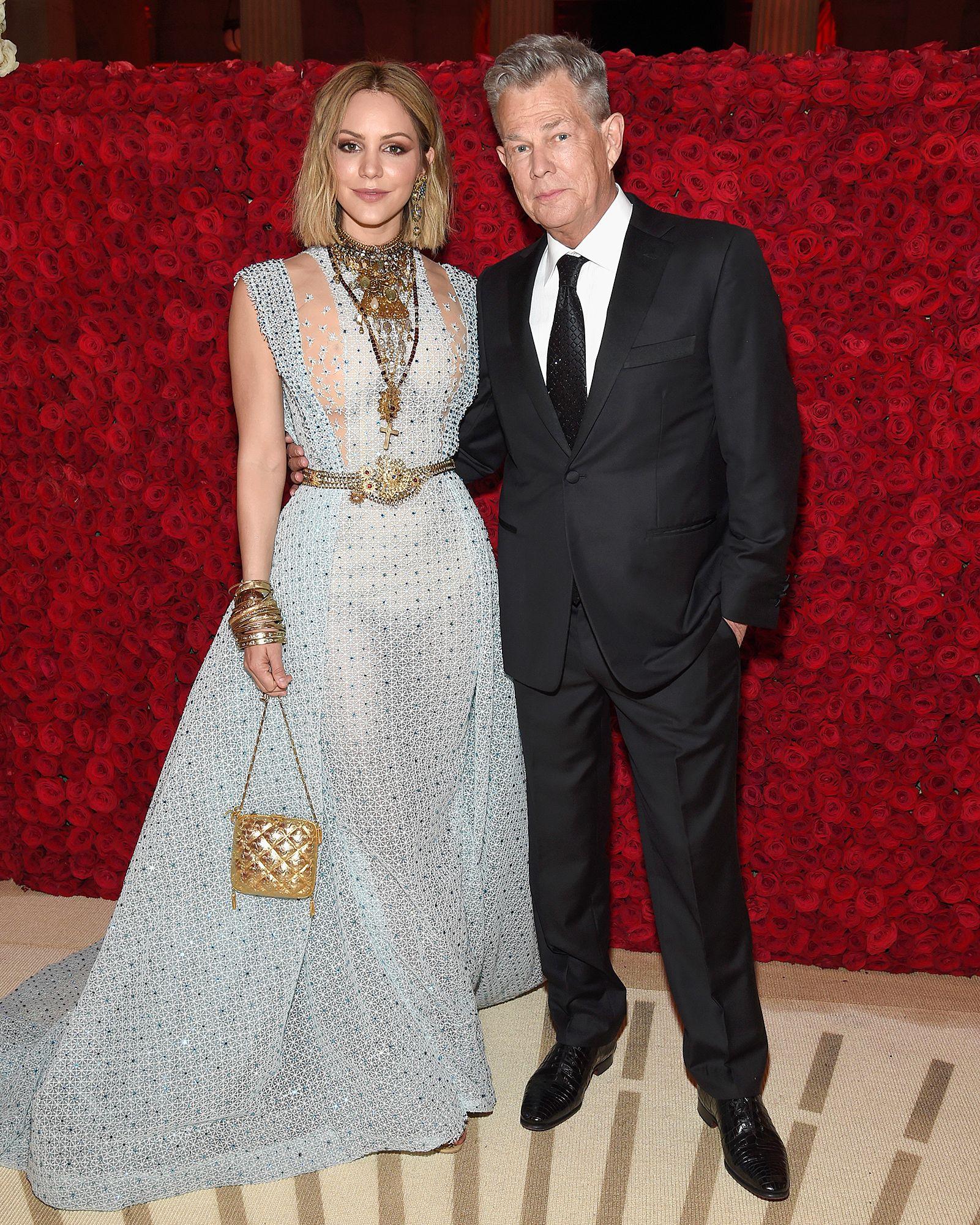 David Foster S Daughter Erin 35 Calls His Fiancee Katharine Mcphee 34 Mommyyy Met Gala 2018 Met Gala Katharine Mcphee