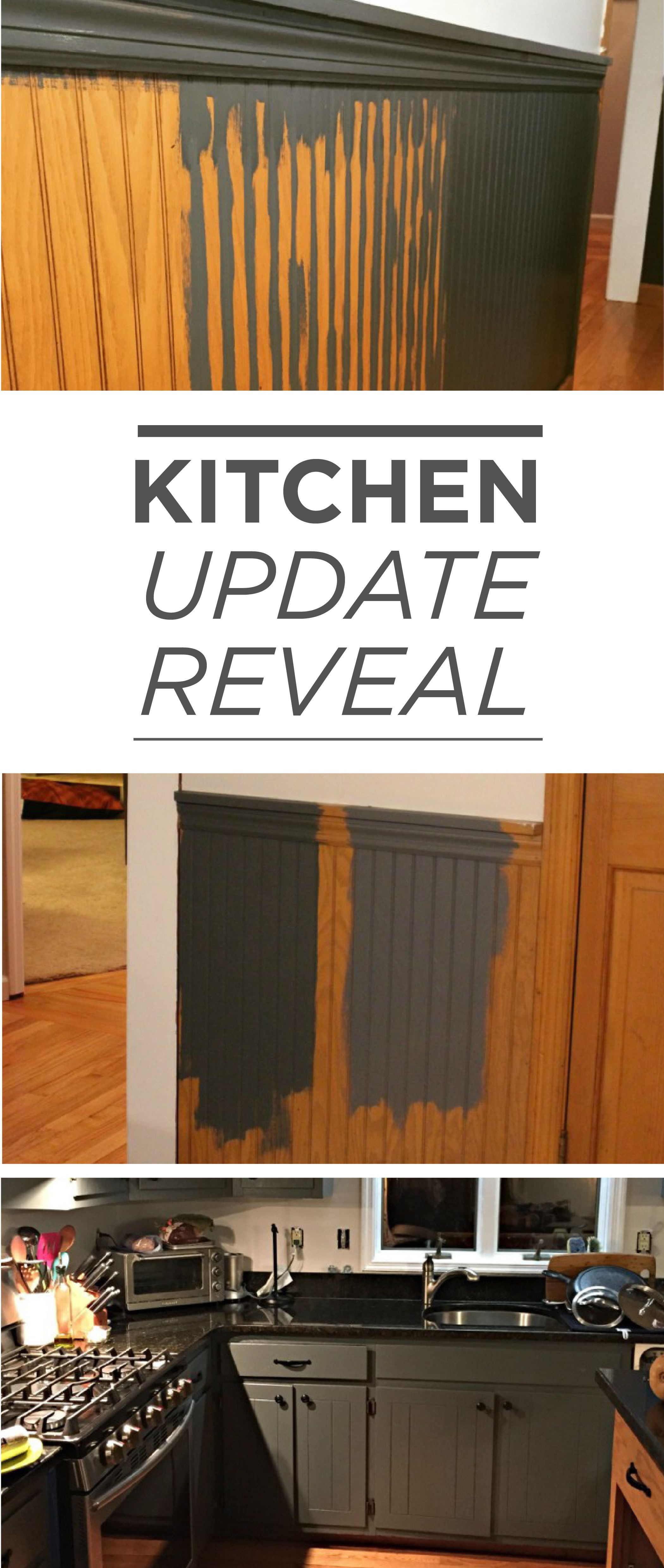 Best Give Your Kitchen Cabinets And Beadboard The Update They 400 x 300